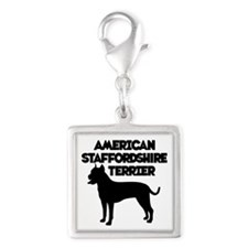 AM.STAFF Silver Square Charm