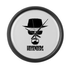 Heisenberg Large Wall Clock