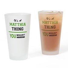 Unique Matthias Drinking Glass