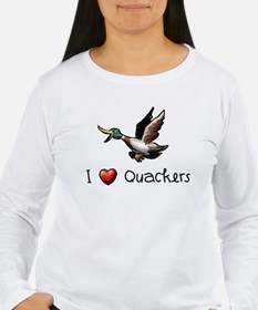 I-love-quackers.png Long Sleeve T-Shirt