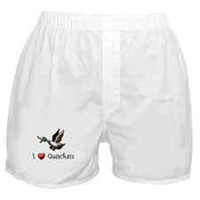 I-love-quackers.png Boxer Shorts