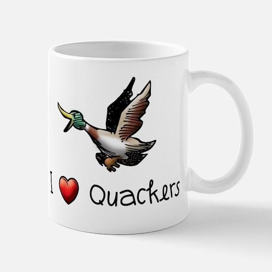 I-love-quackers.png Mugs
