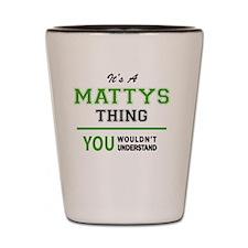 Mattie Shot Glass