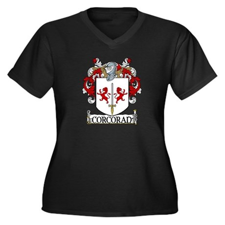 Corcoran Coat of Arms Women's Plus Size V-Neck Dar