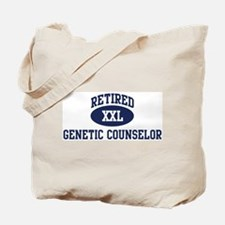 Retired Genetic Counselor Tote Bag