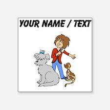 Custom Dog Groomer Sticker