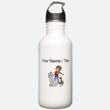 Custom Dog Groomer Water Bottle