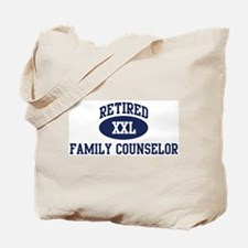 Retired Family Counselor Tote Bag
