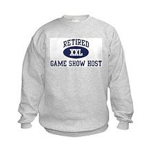Retired Game Show Host Sweatshirt