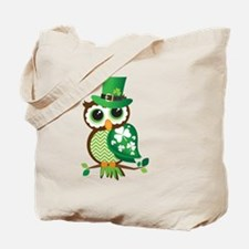 Irish Owl Tote Bag