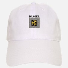 Danger Symbol Baseball Baseball Baseball Cap