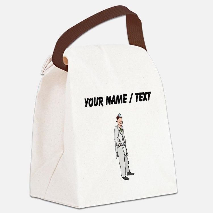 Custom Doctor Canvas Lunch Bag