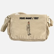 Custom Doctor Messenger Bag
