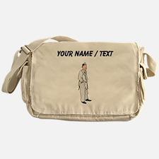 Custom Doctor Messenger Bag