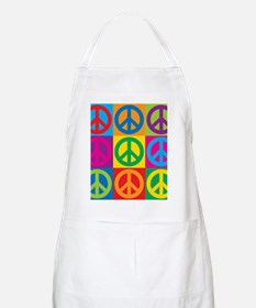 Pop Art Peace Apron