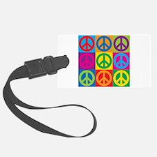 Pop Art Peace Luggage Tag