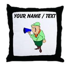 Custom Director Throw Pillow