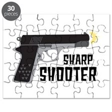 Sharp Shooter Puzzle
