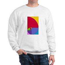 Fibonacci Pop Art Sweatshirt