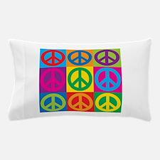 Pop Art Peace Pillow Case