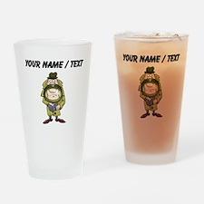 Custom Detective Drinking Glass