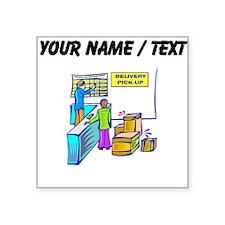 Custom Delivery Service Sticker