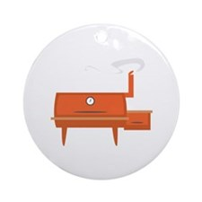 BBQ Grill Ornament (Round)