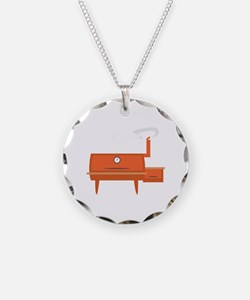 BBQ Grill Necklace