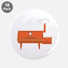 """BBQ Grill 3.5"""" Button (10 pack)"""