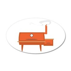 BBQ Grill Wall Decal
