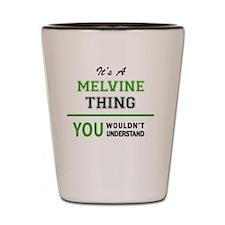 Cool Melvin Shot Glass