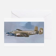 Unique B 25 Greeting Cards (Pk of 10)