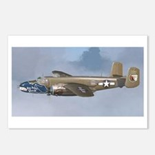 Funny B airplane Postcards (Package of 8)