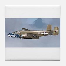 Cute Bomber Tile Coaster