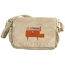 16 Hours Strong Messenger Bag