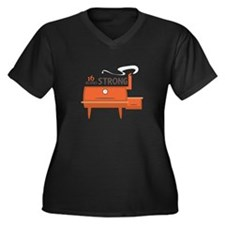 16 Hours Strong Plus Size T-Shirt