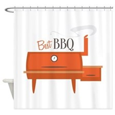 Best BBQ Shower Curtain