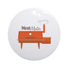Meat Master Ornament (Round)