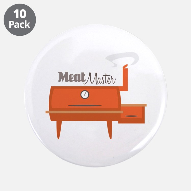 """Meat Master 3.5"""" Button (10 pack)"""