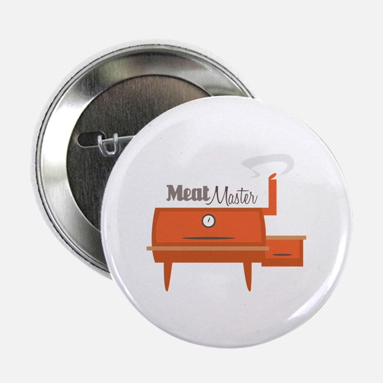 "Meat Master 2.25"" Button (100 pack)"