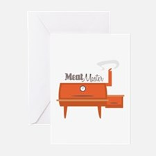 Meat Master Greeting Cards