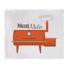 Meat Master Throw Blanket