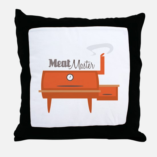 Meat Master Throw Pillow