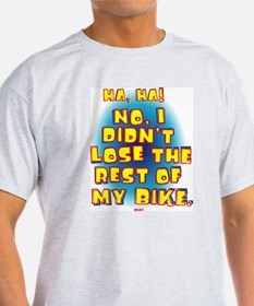 Gray Unicycler's Answer T-Shirt