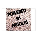 Powered by Frijoles Postcards (Package of 8)