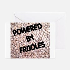 Powered by Frijoles Greeting Cards (Pk of 10)