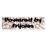 Powered by Frijoles Bumper Sticker
