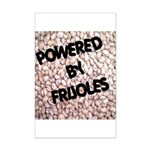 Powered by Frijoles Mini Poster Print