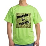Powered by Frijoles Green T-Shirt