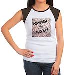 Powered by Frijoles Women's Cap Sleeve T-Shirt